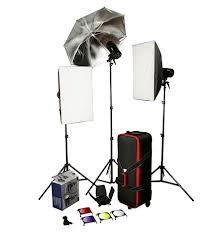 Fashion Event Studio Light Kit