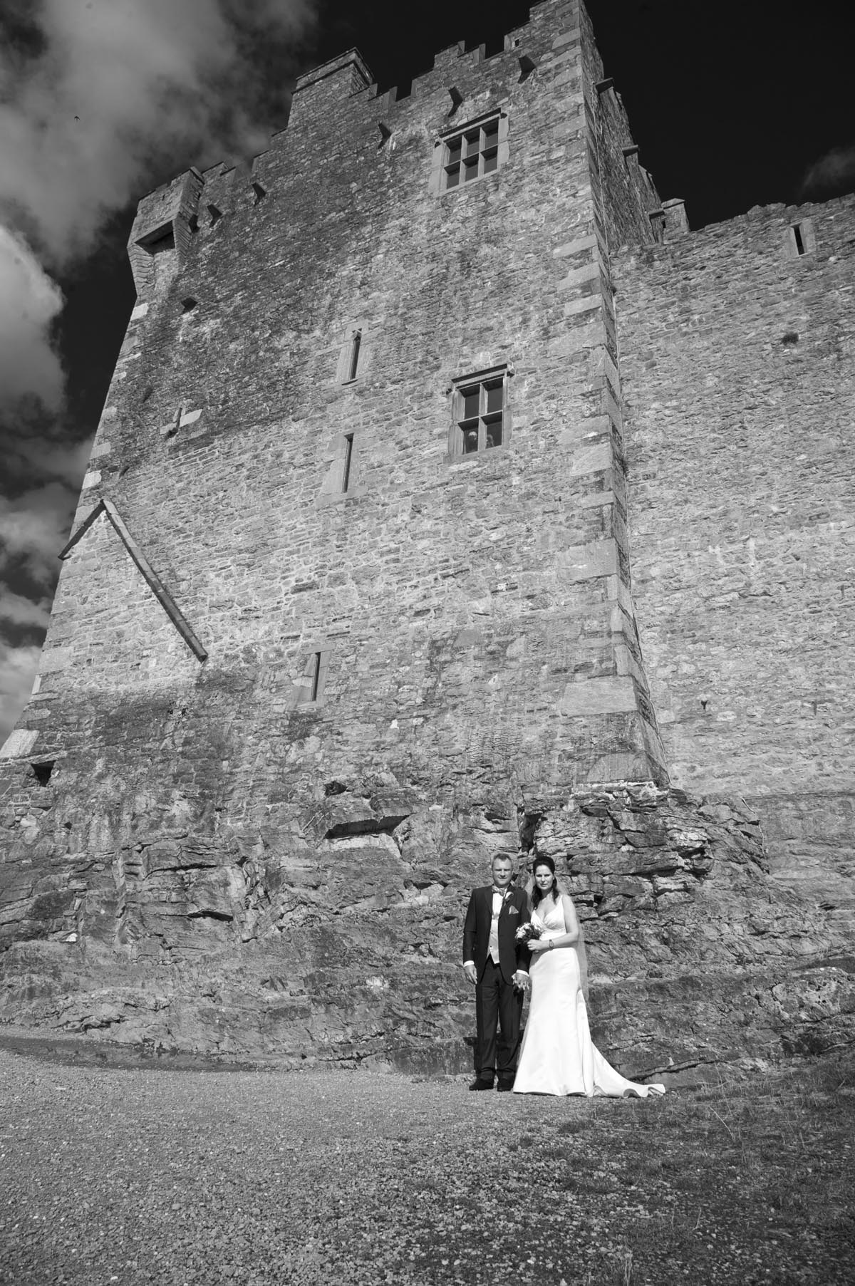 wedding in Ireland, Killarney National Park Ross Castle