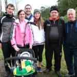 Paudie O'Mahony & family at Operation Transformation Walk 2014