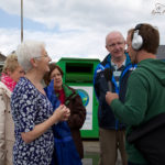 John chats to Ballyheigue walkers.