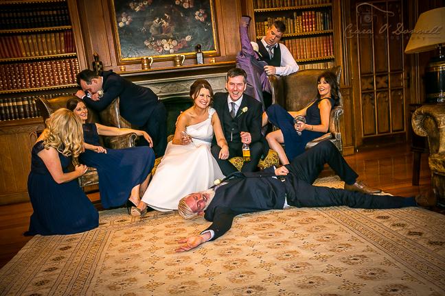 Informal bridal party