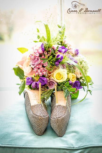 Diamonds, shoes & flowers